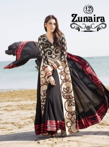 Party Wear Collection Zunaira Lounge 2015