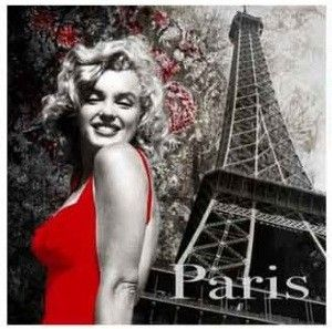 Marilyn Monroe ~*❥*~ Marilyn à Paris