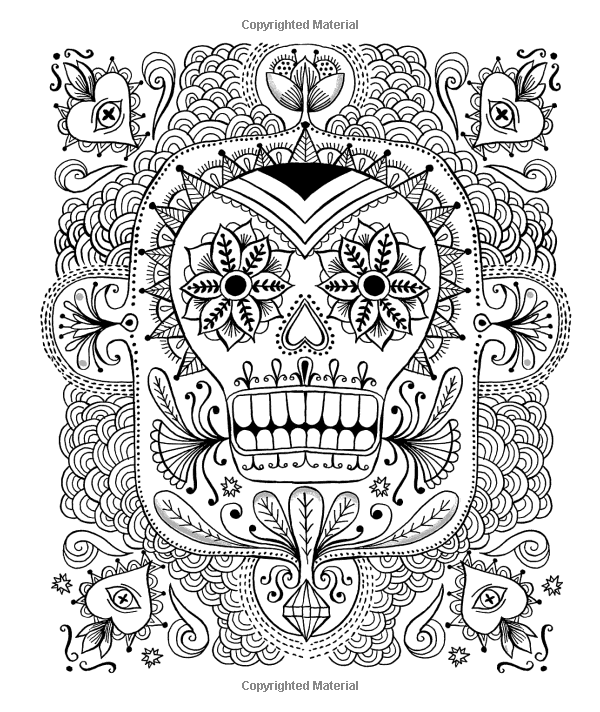 "Adulting coloring pages ~ iColor ""Sugar Skulls"" Iron Giant 