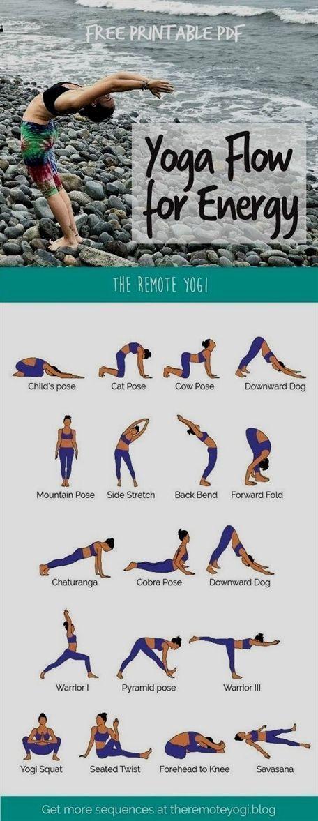 Diese anregende Morgen-Yoga-Routine steht in einem kostenlosen, druckbaren PDF-Format zur Verfügung. #quickfitness