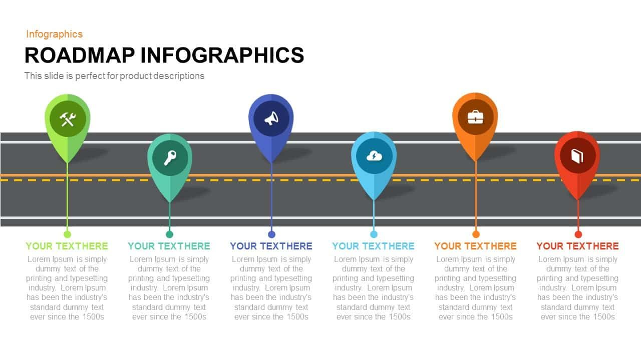 Roadmap Infographics Powerpoint Template And Keynote Slide