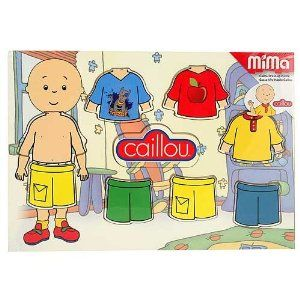 Amazoncom Caillou Dress Up Puzzle Toys  Games 806  Sons