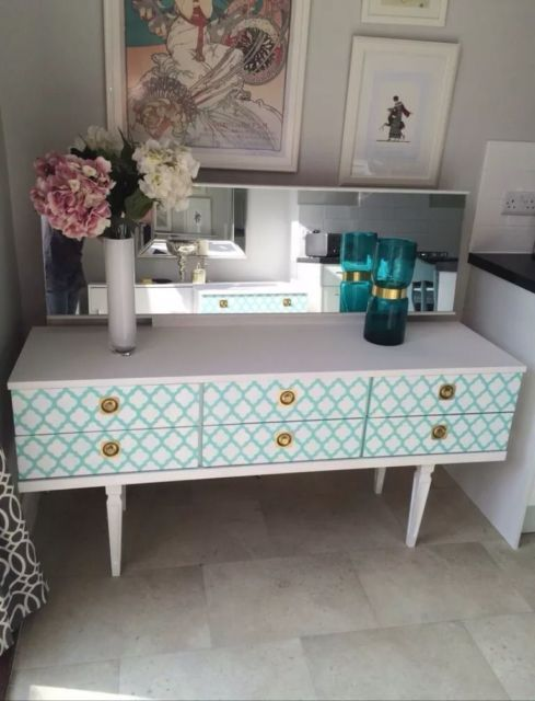 Beautiful Upcycled Dressing Table Free Delivery United Kingdom Gumtree Shabby Chic Dresser Retro Dressing Table Mid Century Dressing Table