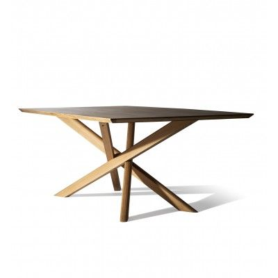 Ethnicraft Mikado Dining Table With Images Dining Table Table Ethnicraft Furniture