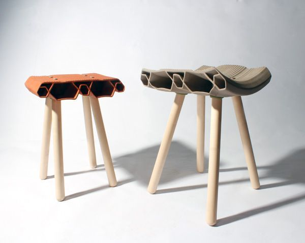 Lovely Thedesignwalker: U201cClay Stools By Max Cheprack U201d · Ceramic StoolCeramic  FurnitureCeramic ...