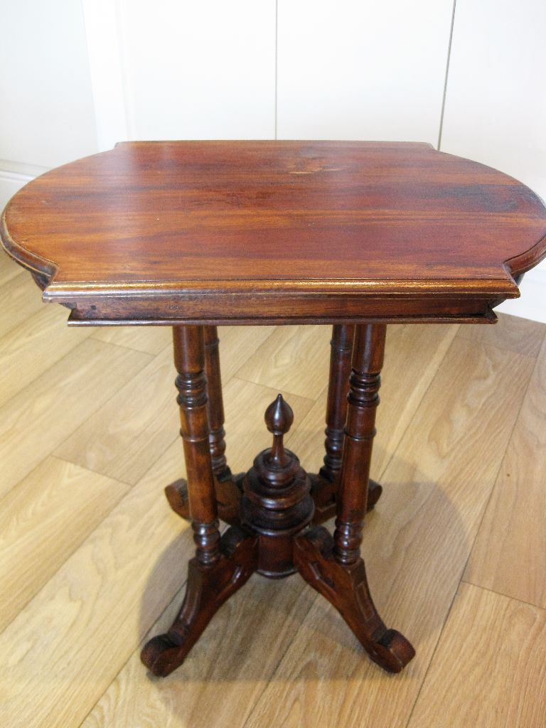 Antique Victorian Ornate Solid Mahogany Parlor Side End Wine Table United Kingdom Gumtree With Images Wine Table Parlor Table Solid Mahogany