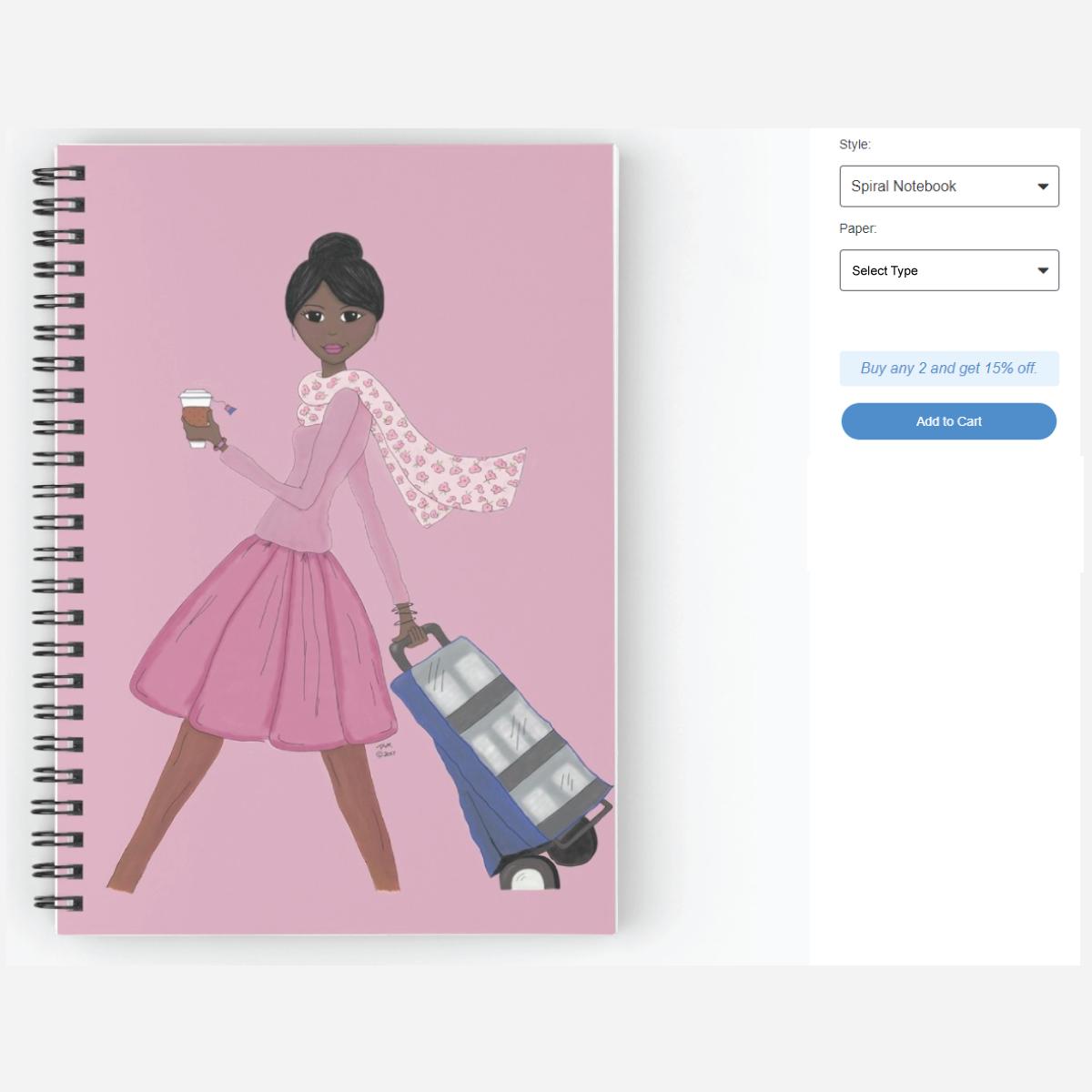 Cart Girl - Best Life Notebook  Fun JW notebook and planner