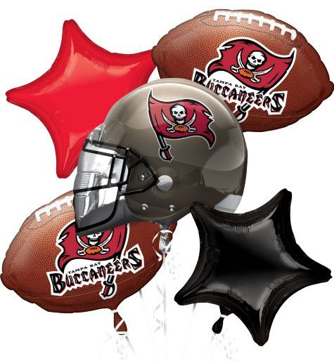 Tampa Bay Buccaneers Balloon Bouquet Party City Tampa Bay