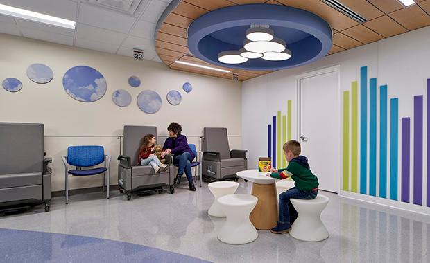 Robert Wood Johnson University Hospital Emergency Department Terrazzo In 2020 Treatment Rooms Seating Options Terrazzo