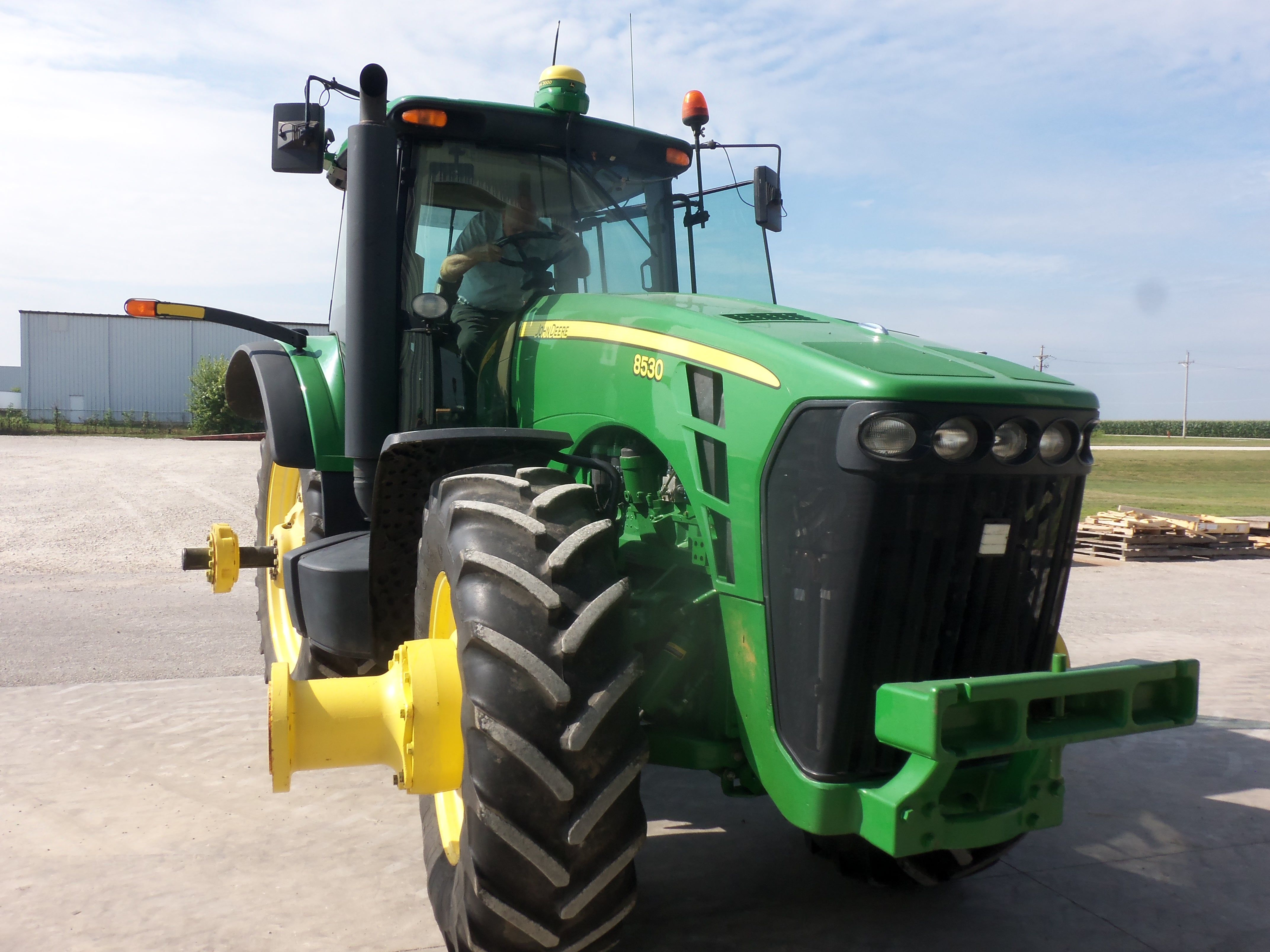 The owner is in the cab of this john deere 8530ortly after this the owner is in the cab of this john deere 8530ortly after this picture fandeluxe Choice Image