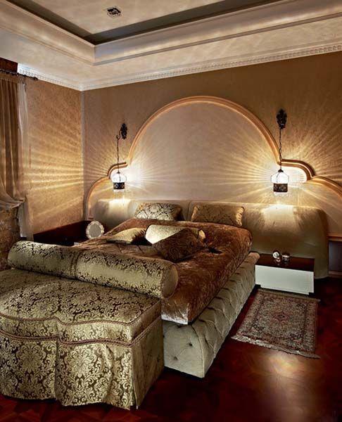 Arabic Bedroom Design Delectable Arabic Decor Motifs In Modern Interior Design Luxurious Penthouse Decorating Inspiration
