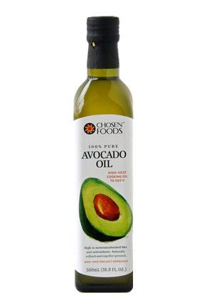 Avocado Oil Pure And Cold Pressed Health Benefits Chosen Foods Chosen Foods Healthy Cooking Oils Chosen Foods Cooking Oils