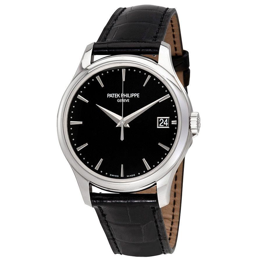 Patek Philippe Calatrava Automatic Black Dial Men S Watch 5227g 010 Watches For Men Patek Philippe Watches Men Patek Philippe Calatrava