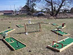 Image result for backyard putt putt   Miniature golf ...