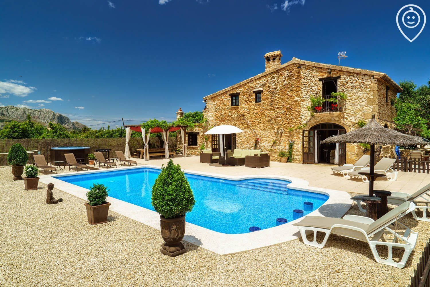 Now Booking La Finca Costa Blanca Spain For 2020 Price From 1 460 3 550 Per Week Sleeps Up To Family Friendly Holidays Spain Country Spanish Villas