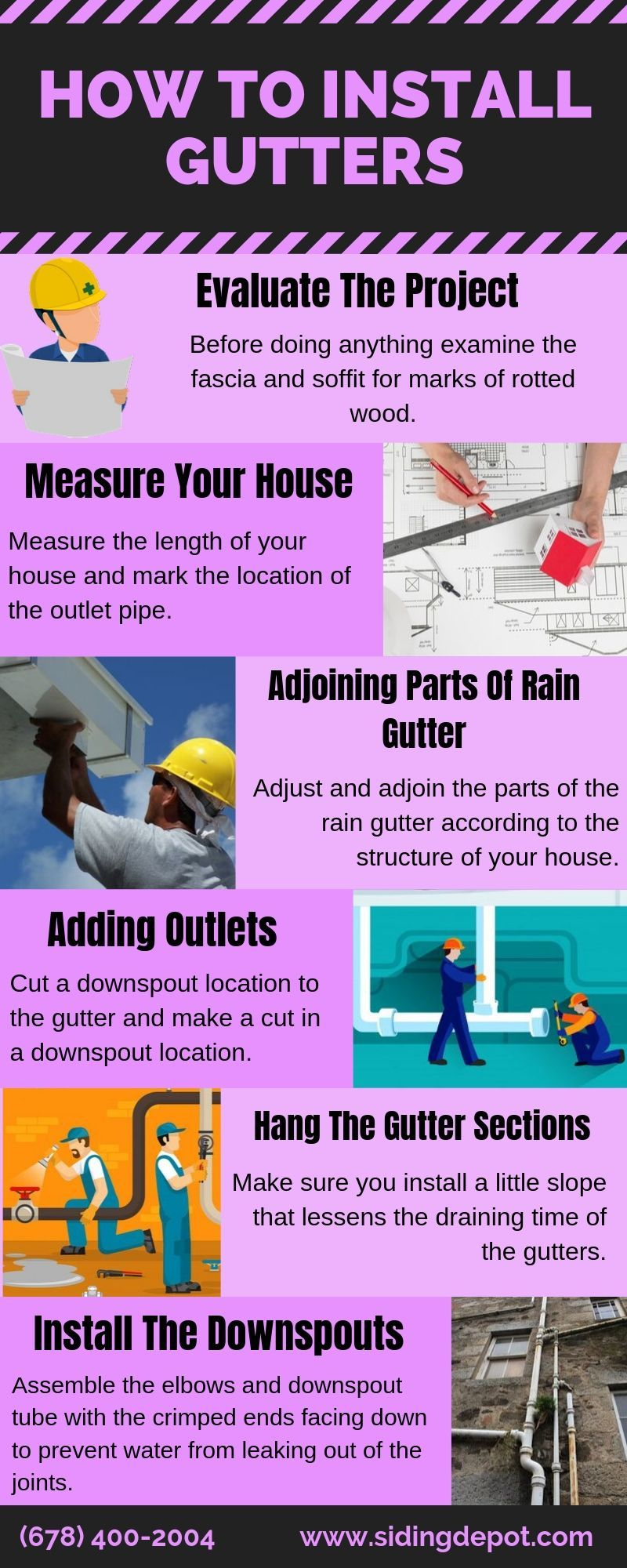 Installation Of Gutters Seems To Be An Easy Task But One Must Only Commence The Task If He She Holds Th How To Install Gutters Gutter Repair Gutters