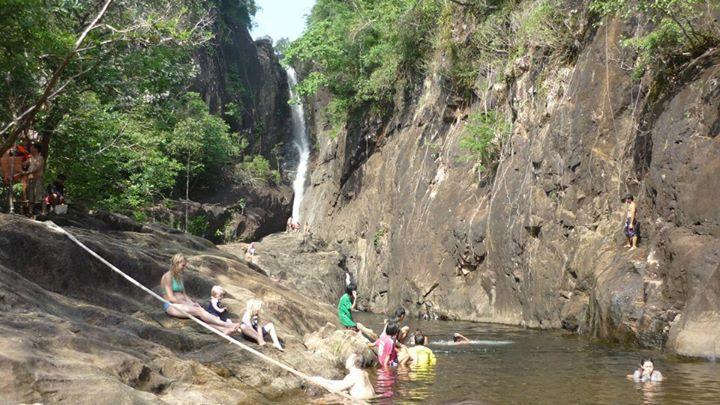 Cascades à Koh Chang