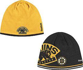 finest selection dd03a 4751d Reebok Boston Bruins Reversible Player Knit Hat - Shop ...