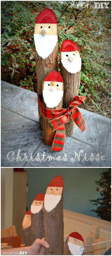 21 Cheap DIY Outdoor Christmas Decorations Christmas Pinterest