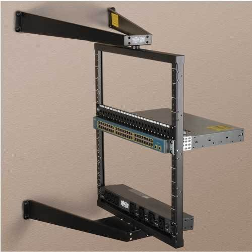 Srwo12us Tripp Lite 12u Wall Mount Pivoting Open Frame Rack Cabinet Hinged Open Frame Hinges For Cabinets Wall Mount