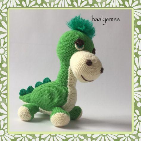 Haakpatroon dinosaurus - Haak je mee | Haakpatronen | Pinterest ...