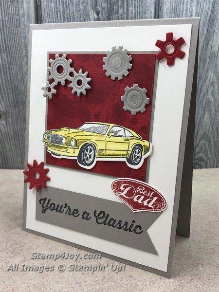 handmade birthday card for dad  wwwstamp4joy  dad