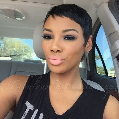 Https I1 Wp Com Www Short Haircut Com Wp Content Uploads 2019 03 Very Short Hairstyles For Black Women Jp Very Short Hair Short Hair Styles Thick Hair Styles