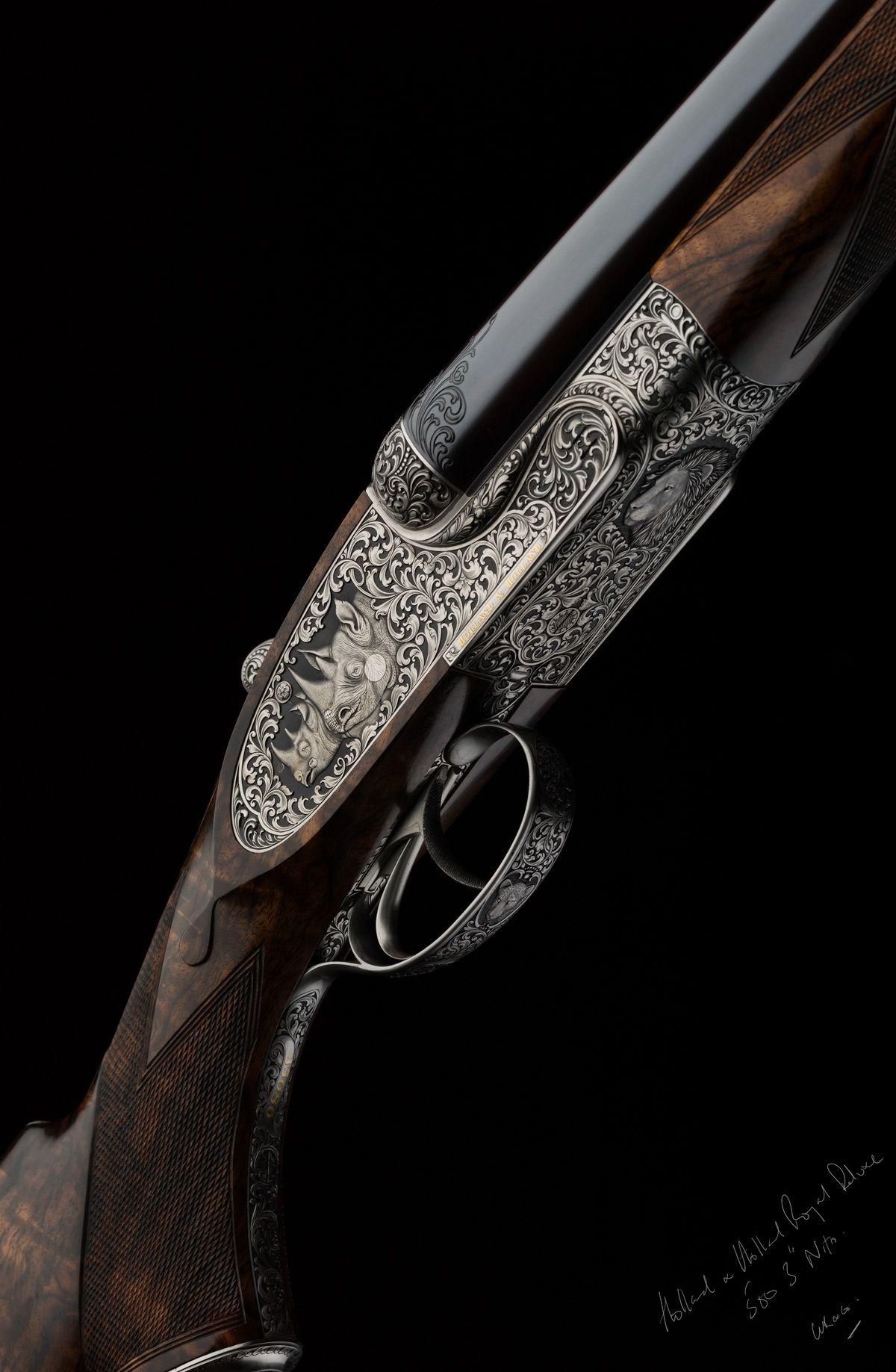 Holland And Holland >> Holland And Holland Double Rifle Express Rifle 500 Nitro