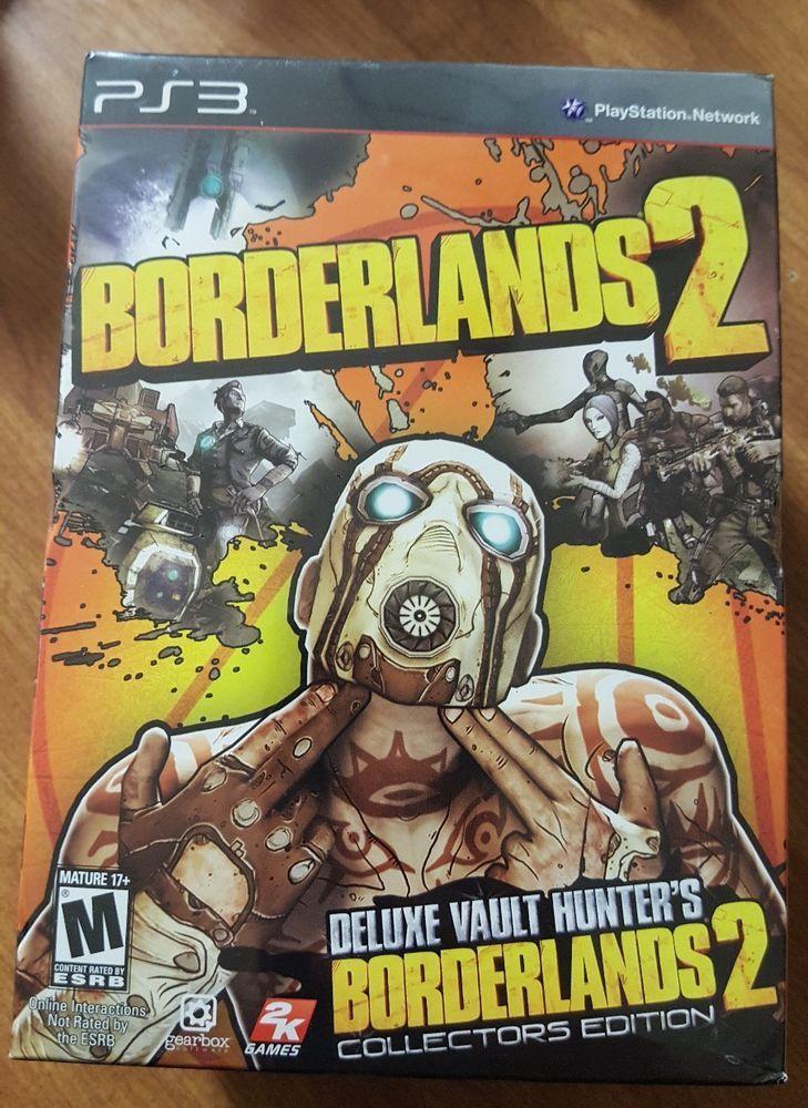 Borderlands 2 Deluxe Vault Hunter's Collector's Edition