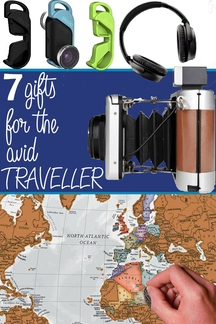 Gifts for travelers 9 presents every traveler will love
