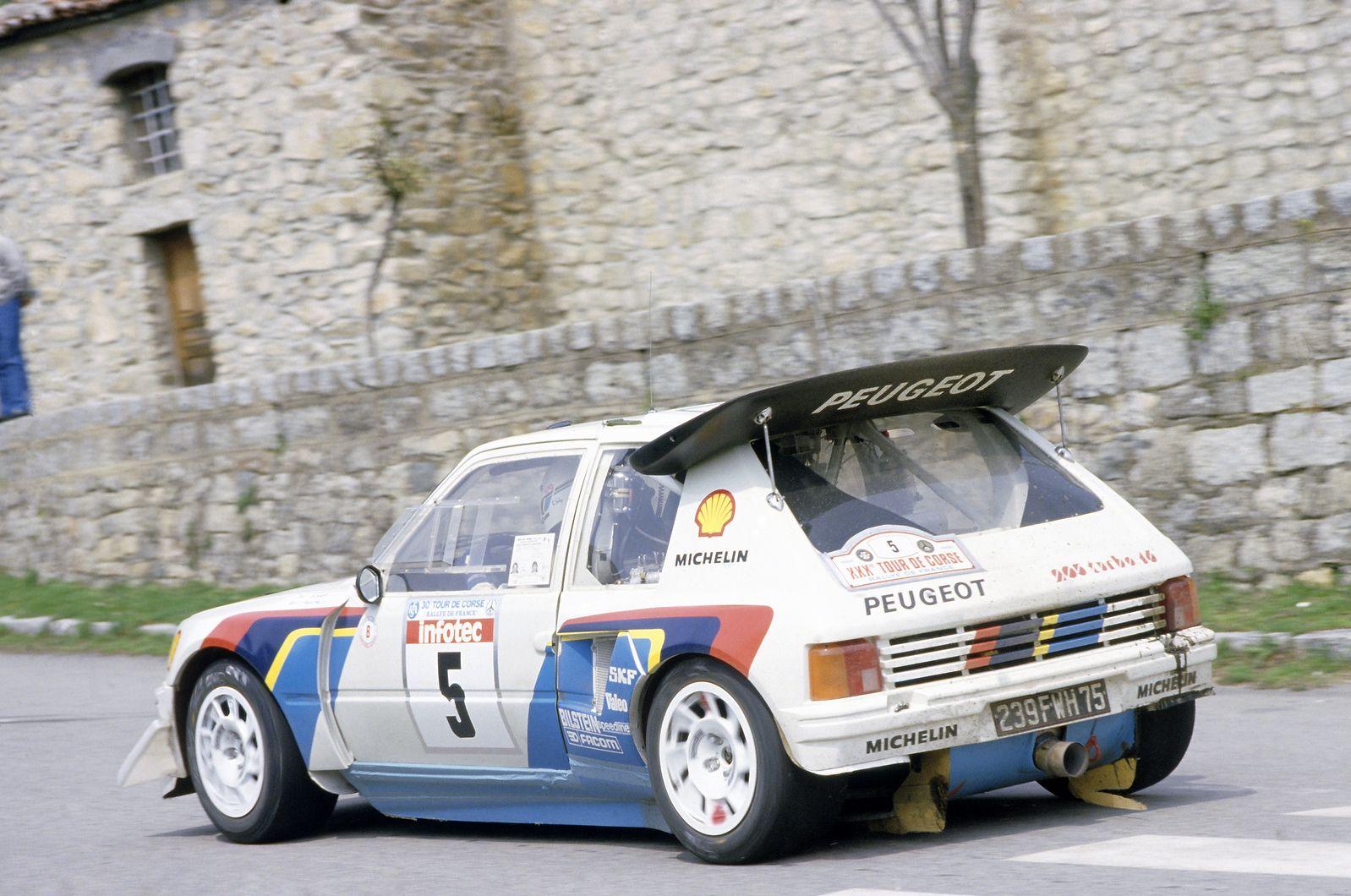 peugeot 205 evo 2 t16 tour de corse 1986 automotive pinterest peugeot 205 peugeot et corse. Black Bedroom Furniture Sets. Home Design Ideas