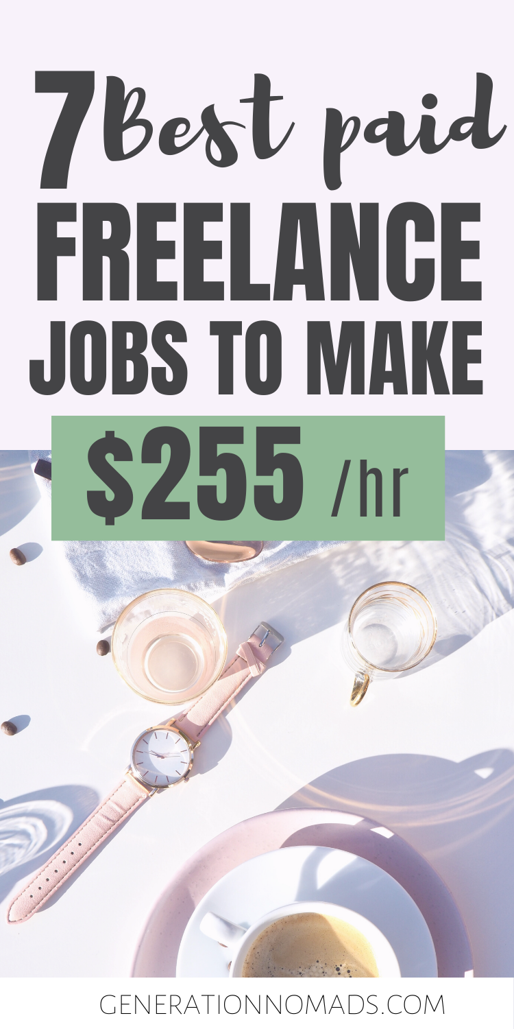 7 Highest Paying Jobs For Freelancers Freelance Jobs That Make More Money With Up To 255 Hr Freelancing Jobs High Paying Jobs Paying Jobs