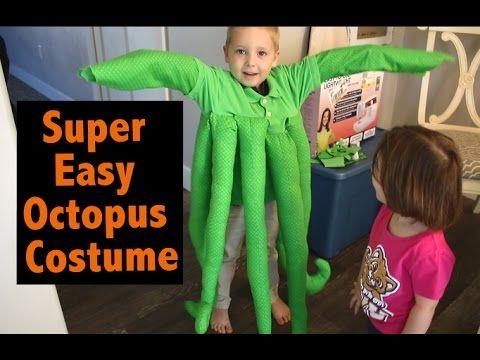 DIY Octopus Costume - maskerix DIY Halloween Costume Ideas - super easy halloween costume ideas