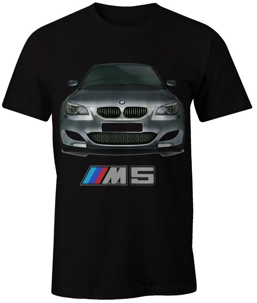 New Black T Shirt Bmw M Power M5 E60 Unbranded Personalizedtee