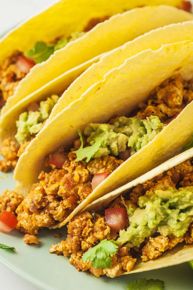 Spicy Breakfast Tacos Healthy Vegan Recipes