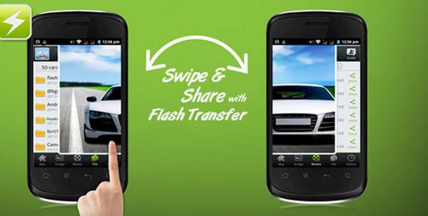Flash Share or FlashShare is a mobile phone app for Android