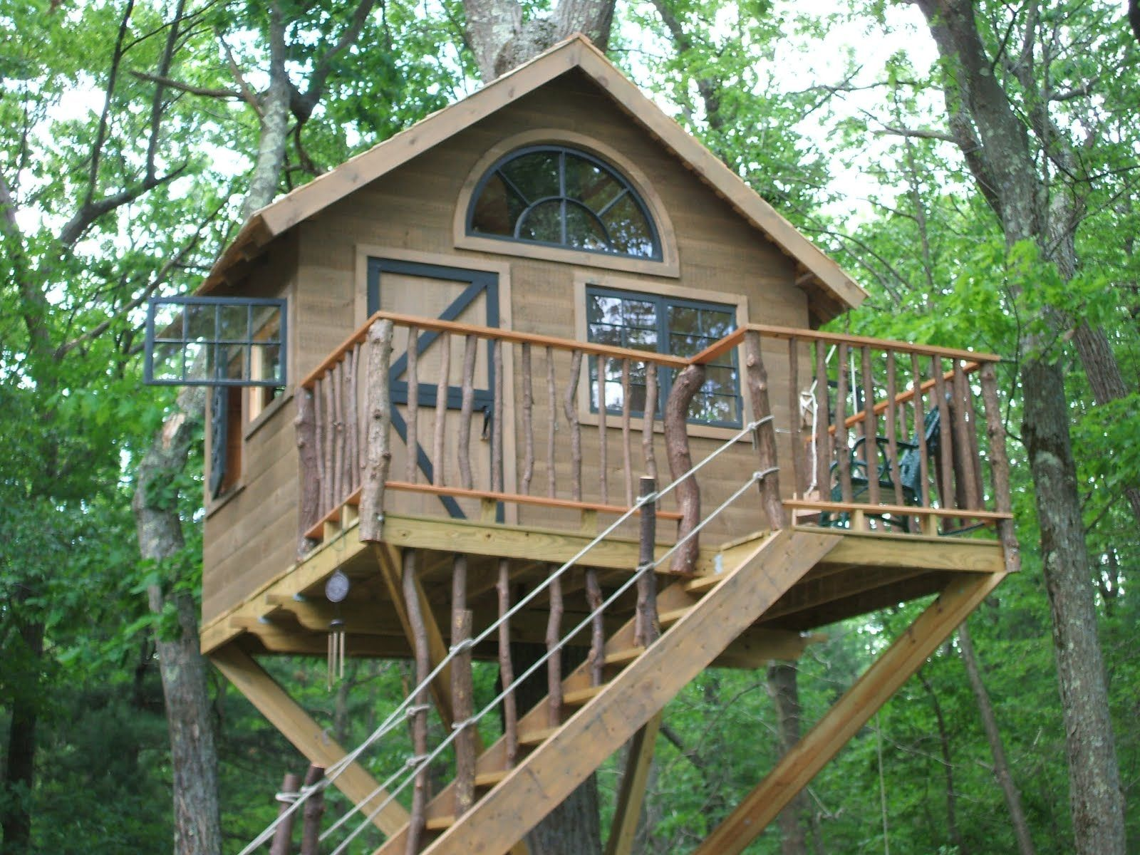 Simple Tree Houses tree houses | pictures of tree houses and play houses from around