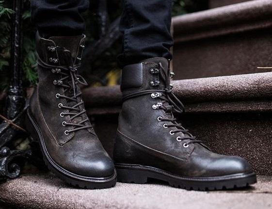 high ankle combat boots, Men boots
