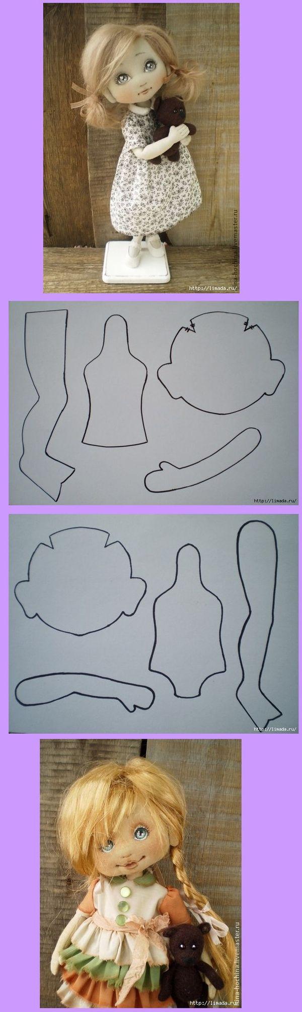 2b1f3f0375fb4986a73507804cf64900.jpg 600×2.007 pixels | Doll crafts ...
