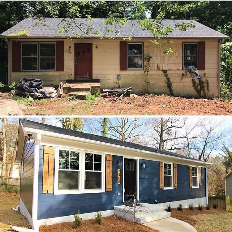Mobile Homedecorating: Small House Exteriors Image By Lori Foster On Curb Appeaal