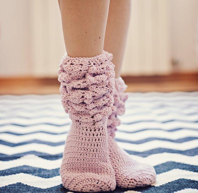 Ravelry: GiGi Socks crochet pattern by Vita Apala | Háčkování ...