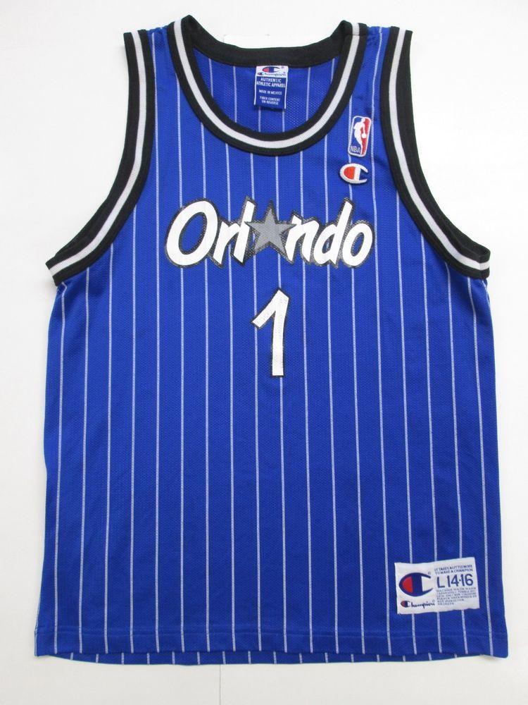 NBA Orlando Magic Penny Hardaway 1 VINTAGE Jersey by