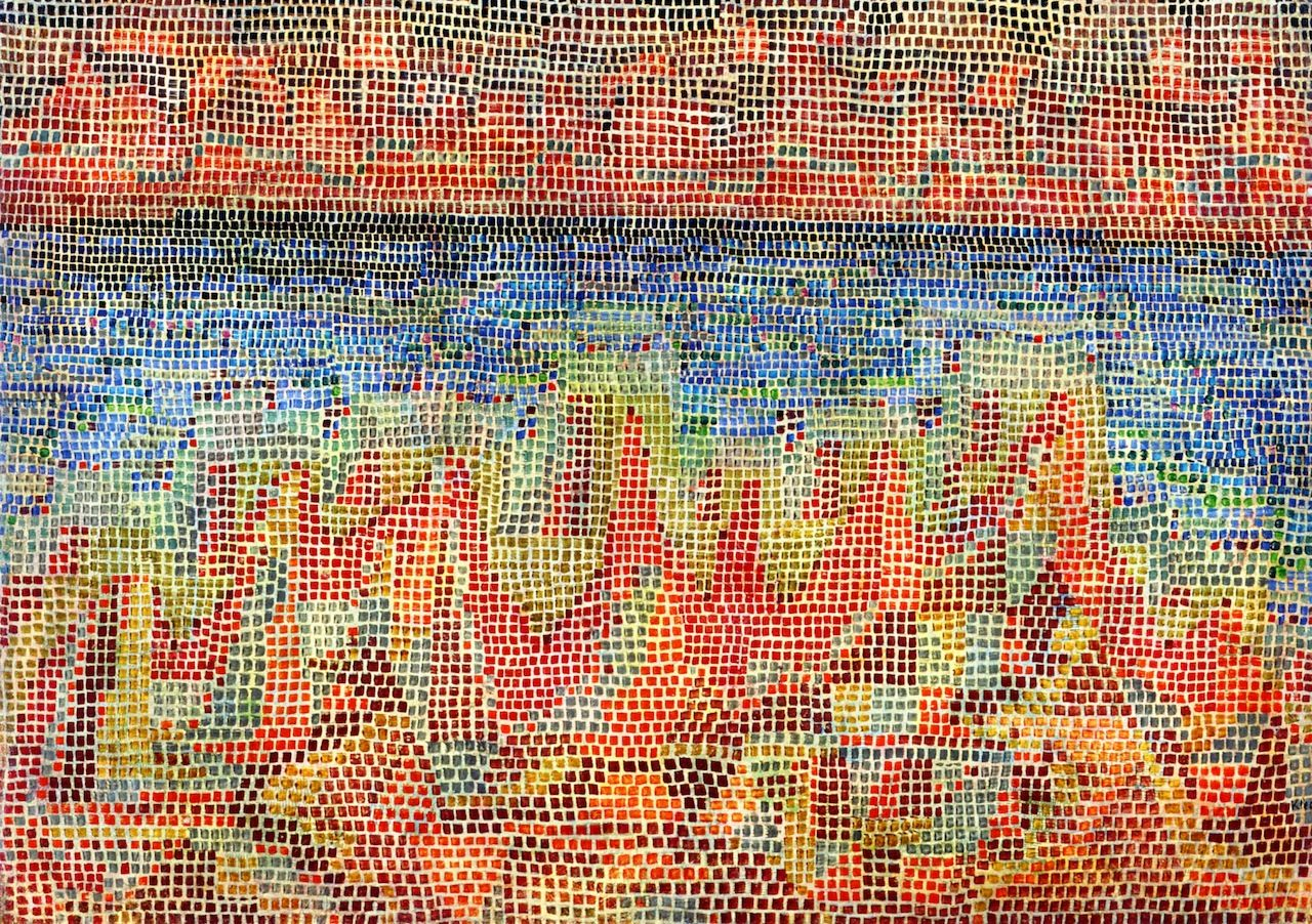 Cliffs by the Sea - Paul Klee - 1931