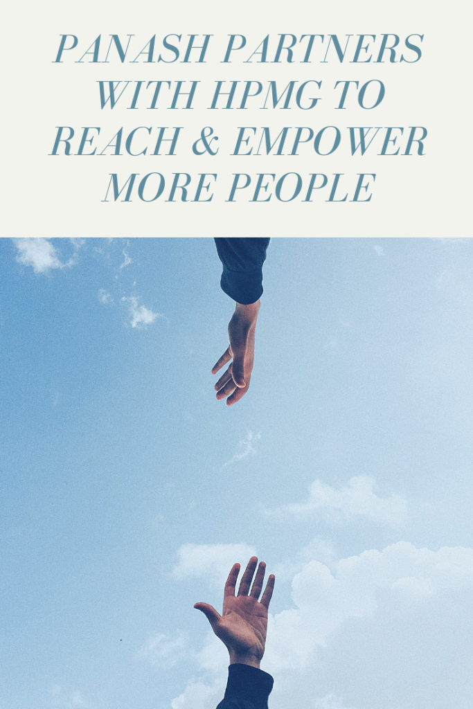 paNASH Partners With HPMG to Reach and Empower More People