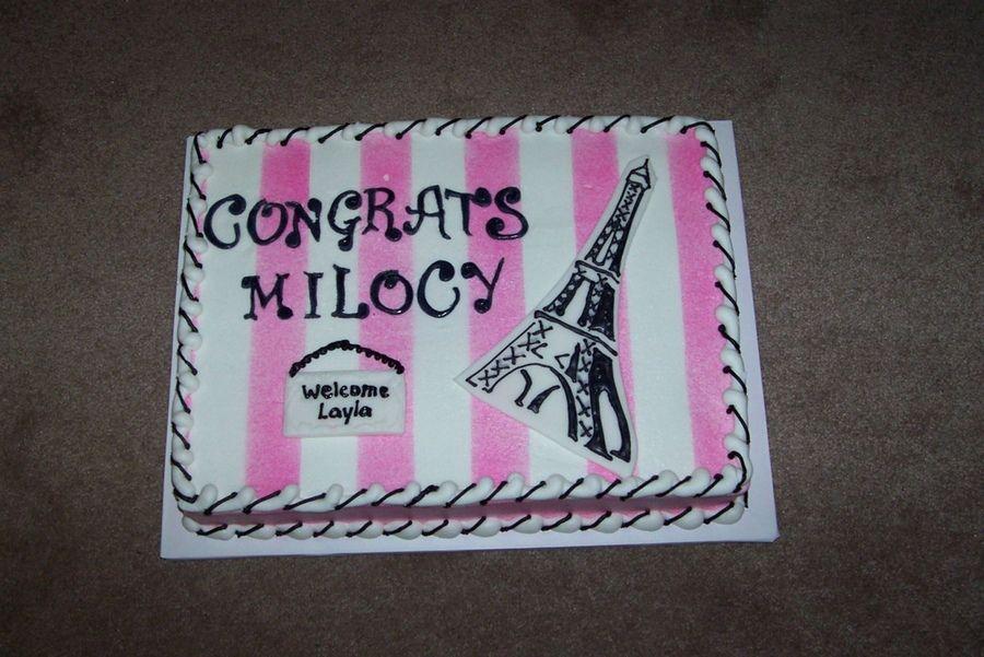 Paris baby shower paris baby shower eiffel tower cake