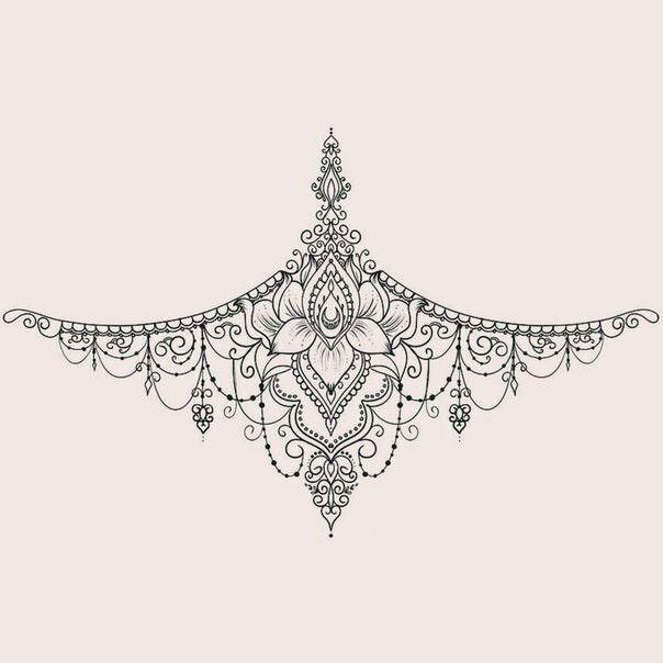 Dibujos Tattoos Inspirational Tattoos Sternum Tattoo Design