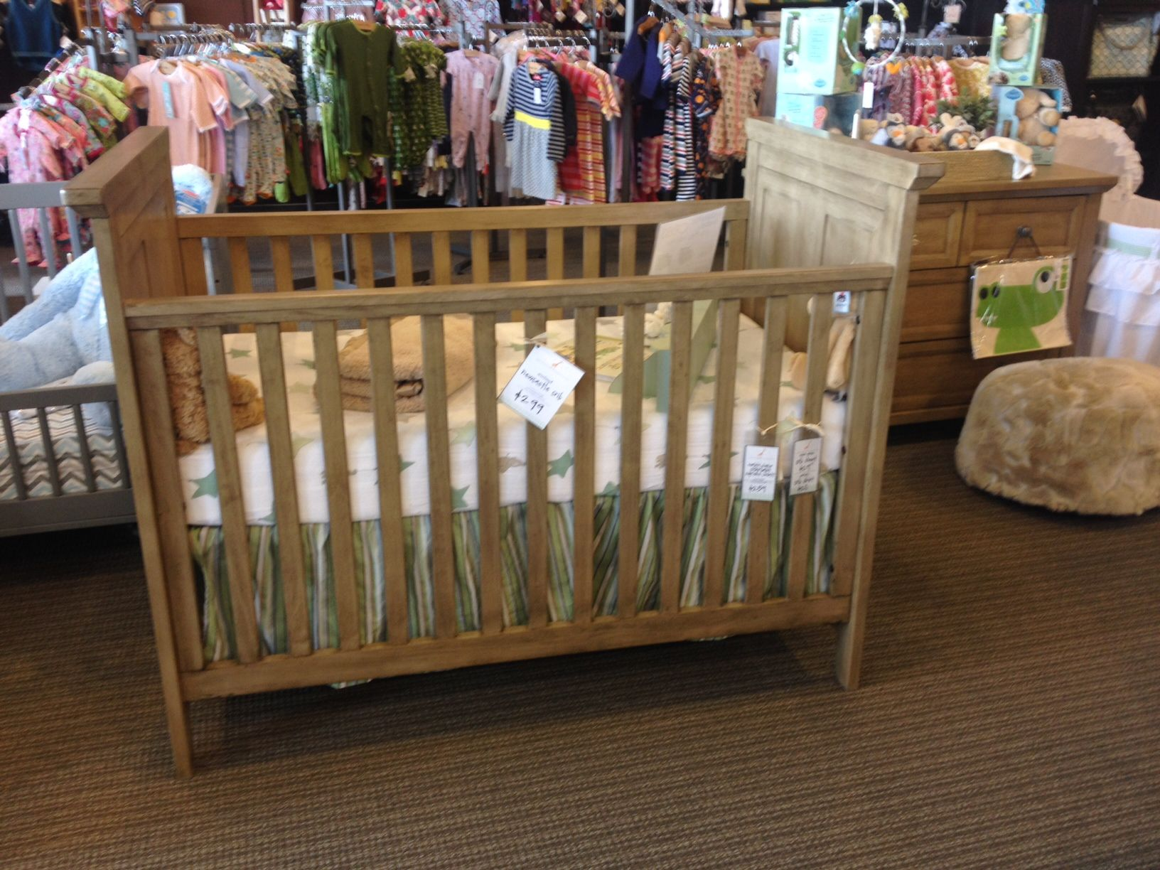 Jameson panel crib for sale - Westwood Newcastle Crib In Vintage