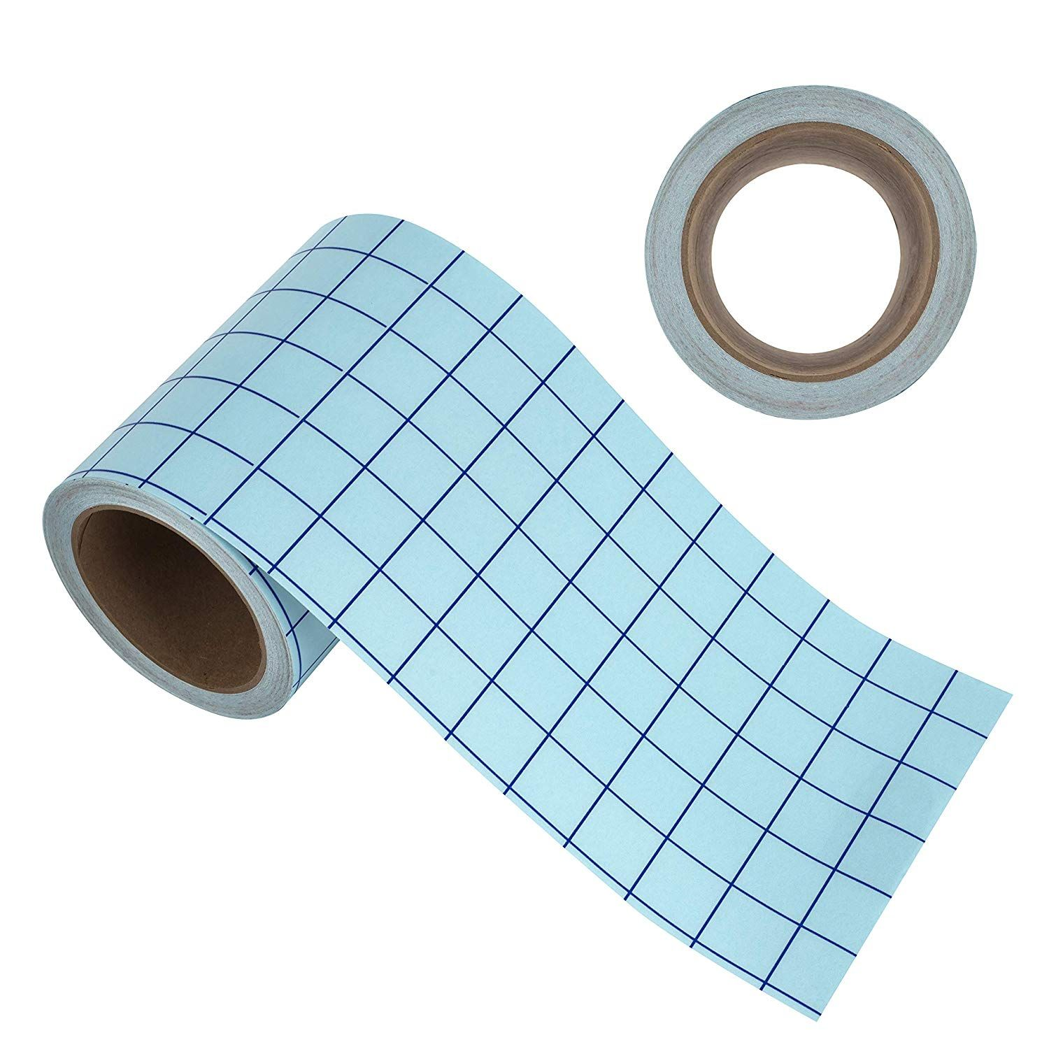 Angel Crafts Transfer Paper Tape Craft Transfer Tape For Vinyl Application With Blue Grid Lines Self Adhes Paper Tape Transfer Paper Transfer Tape For Vinyl