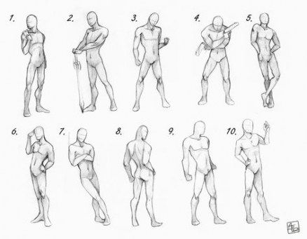 19 Ideas For Drawing Reference Poses Male Standing Drawing Poses Male Male Body Drawing Anime Poses Reference