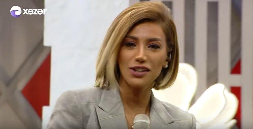 Roya Ayxan 17 05 2019 Xəzər Media Youtube Kina Belle